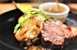 お得な豚と鶏の2種盛り!肉押しイタリアンの新鉄板焼は2900円『オステリア オカステリーナ』