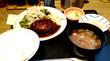 ハンバーグ定食 デミグラスソース@ほの字(表参道ランチ)