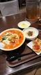 【太陽のトマト麺next/新宿】1月限定、ミネストラフォンデュベジトマ麺♪