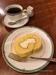 ロールケーキと東チモール♡茶豆珈琲