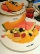 東京駅・キッチンストリート♪『果実園』8種類以上も入ったフルーツサラダのモーニング~☆