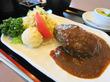 西神飯店@神戸市西区平野「1日限定10食・デミタンバーグ定食」