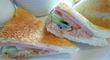 「花博記念公園鶴見緑地」近くの「ファミーユ」鶴見店で「サンドイッチモーニング」