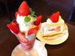 イチゴ好きは絶対行くべし!小岩「ラフォーレ」の「イチゴパフェ」&「イチゴのショートケーキ」