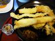 【福岡】活小いわし天定食&まっちゃん定食♪@天ぷら まつお