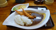 無性にエビフライが食べたくなって「エビフライカレー」@「でん」中崎町店