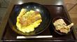 「特選とりかつ丼のから揚げセット」@「鳥さく」イオンモール大阪ドームシティ店