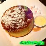 カフェ・ミヤマ 中野ブロードウェイ店 フワッフワのシフォンケーキみたくやわらかくて美味しかった💗これで530円!食事のパスタも美味しかった。