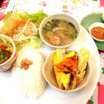 ニャーヴェトナム 錦糸町店本日のランチプレート♪今度はフォーたべにきたい。