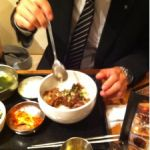 五韓満足 八重洲店なう!牛スジどん美味しかったよd(^_^o)