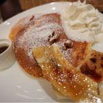 カフェタナカ  ジャズ店/ふわふわ軽い食感で美味しかったです!生クリームにはバニラビーンズが…!!!