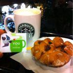 業務終了!スターバックス・コーヒー 静岡丸井店 でアップルシナモンフリッターとトールラテ。震災復興支援のfor TOHOKUスタバカードに参加しました。