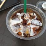 スターバックス・コーヒー 日比谷シティ店   アイスコーヒー   2時間の散歩後テラス席で一休み