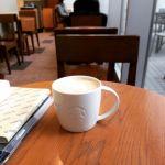 スターバックス・コーヒー アリオ亀有店。トールラテ。#カフェ #cafe