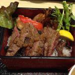 大戸屋 マイカル茨木店 で 和牛ステーキ膳 いただきます!