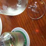 毎回白ワインですが(・∀・)感動のあとは肉♥   アウトバック・ステーキハウス 六本木店