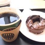 タリーズコーヒー Pasar幕張店  オールドファッションドーナツとコーヒー!