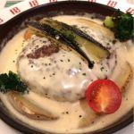 チーズフォンデュハンバーグ、予想をはるかに上回る美味さ、当たりです。@バケット アルカキット錦糸町店