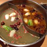 天香回味 銀座中央通り店薬膳鍋。