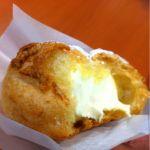 カワセミベーカリー:新東名高速道路 NEOPASA清水濃厚牛乳のカスタードシュークリーム