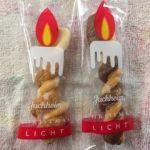 ユーハイム 高島屋横浜店   クリスマスリヒト   クリスマス限定ロウソク型クッキー