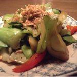 青菜と厚揚げの炒めもの@Nha Viet Nam。野菜による #飯テロ