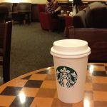 初スタバラテうまし。スターバックス・コーヒー 札幌パルコ店