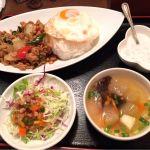 JASMINE THAI eat&deli オーテモリ店 ガパオライス