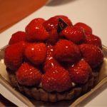 果実工房 新SUN お正月に食べたイチゴのタルト。美味しかったです(^^)