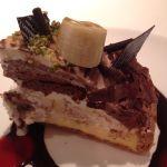 ラ・メゾン アンソレイユターブル 調布パルコ店 ランチにタルトをプラス チーズケーキとチョコがマッチして美味かった