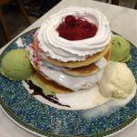 2 PIECE CAFE British 渋谷東急プラザ店♪スペシャルパンケーキ♪3/22で閉館する東急プラザ渋谷にて。4段パンケーキでボリューミーだけど、生地が軽いからペロリ☆