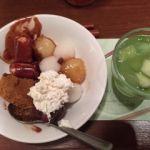 柿安 三尺三寸箸 玉川高島屋S・C店   デザート   これも色々盛り合わせ!