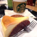 スターバックス・コーヒー ららぽーと甲子園店:ニューヨークチーズケーキを食べて癒される(๑ ́ᄇ`๑)
