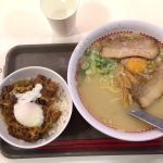 プレミアラーメンセット牛すき焼き丼