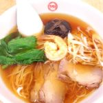 551 蓬莱 京橋京阪店     551麺 630円   甘い椎茸とプリプリの海老。あっさりスープでウマ〜!