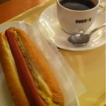 ドトールコーヒーショップ 梅田シティ店ランチが取れない(・・;)そんな時に取り敢えずなんか食べておこうとドトールへドトールのコーヒーは好きだしホットドッグもパンがカリッとしてて美味しい〜