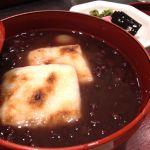 *ぜんざい(温)* 焼き餅と小豆が美味しい季節♪ここは美味し〜いお茶を淹れてくれます♡840