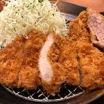 平田牧場 東京ミッドタウン店 金華豚ロース・ヒレかつ膳(^_^)