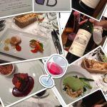 今日はブラッスリー ポール・ボキューズ 銀座のワイン会へ♥初めての参加でしたがソムリエと料理長のセレクトに感動✨また行きたいイベントです♫