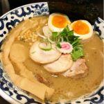 東京駅 斑鳩 #ramen #ラーメン 魚介豚骨全部のせ!鳥チャーシューがこれでもかというほど入っていて大満足♪スープもトロリと濃厚で美味しかったです(*´∀`*)
