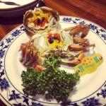 重慶飯店 本店 なう!人生初の上海蟹🦀😋#横浜 #yokohama #中華街 #上海蟹 #蟹