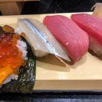 平日でも待ち!立ち喰い寿司を座って待つぞッ‼︎@立喰 美登利 エチカ池袋店
