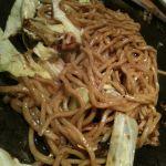 鶴橋風月 箕面店で晩飯。ここのたまご麺すきー☆