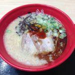 イップウドウ ヌードルエクスプレス 静岡SA店で赤丸豚骨大盛りなう
