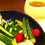龍馬外伝@横浜 農園野菜の酒盗バーニャカウダを実食(^-^)/