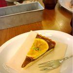 季節のケーキ(アールグレイとオレンジのタルト)@シアターテーブル 渋谷ヒカリエ