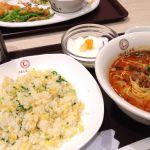 中国大明火鍋城 木の葉キッチンでベスト2(担々麺&チャーハン)セット…(^O^)/