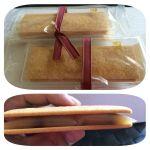 たねやレーズンサンド  別包の白味噌風味の餡をサブレに挟んでいただきます。  @たねや 草津近鉄店