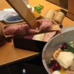 やさい家めい ルミネ横浜店   つくねこうやって投入! しっかりしたお味の鶏でした。