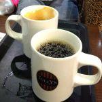 TULLY'S COFFEE モリシア津田沼店  本日のコーヒーとカフェオレ!  ちよっとお休み!
